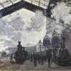 Claude Monet, La Gare Saint-Lazare, 1877 © The National Gallery, London. Bought 1982