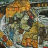 "Egon Schiele, Crescent of Houses ll (""Island Town"") © Leopold Museum, Vienna, Inv. 456"