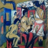 Ernst Ludwig Kirchner, Nudes in Studio, 1912 © Leopold Museum, Vienna, Inv. 197