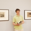 "Radek Knapp in the exhibition ""Radek Knapp meets Alfred Kubin. The Hour of Birth"" 