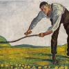 FERDINAND HODLER, The Reaper | c. 1910 © Christoph Blocher Collection, Photo: SIK-ISEA, Zürich