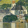 GUSTAV KLIMT, Church in Unterach am Atttersee, 1916 © Courtesy Heidi Horten Collection | Photo: Courtesy Heidi Horten Collection