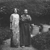 Gustav Klimt and Emilie Flöge in the garden of Villa Oleander in Kammer on Lake Atersee, 1908. © IMAGNO/Austrian Archives
