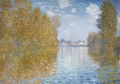 Claude Monet, Herbststimmung in Argenteuil, 1873 © The Samuel Courtauld Trust, The Courtauld Gallery, London