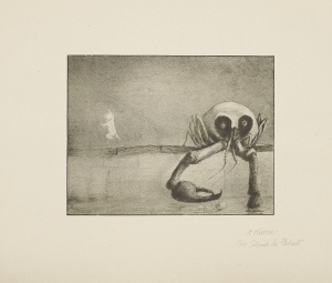 "ALFRED KUBIN, The Moment of Birth (From the ""Weber""-Portfolio, Plate 2/15) 