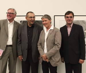 Carl Aigner, Fritz Simak, Andra Spallart, Diethard Leopold © Leopold Museum/APA-Fotoservice/Rossboth