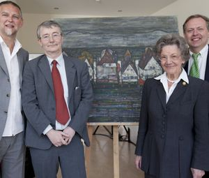 Alfred Noll, Helmut Moser, Elisabeth Leopold, Andreas Noedl © Leopold Museum/APA-Fotoservice/Rambauske
