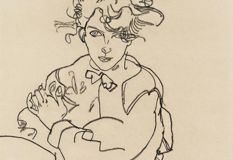 Egon Schiele, Sitting Girl with Thighs Spread, 1918 © Leopold Museum, Vienna, Inv. 3241