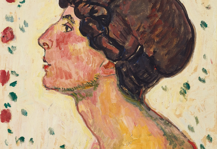 FERDINAND HODLER, Portrait of Madame Darel | 1912 © Leopold, Private Collection