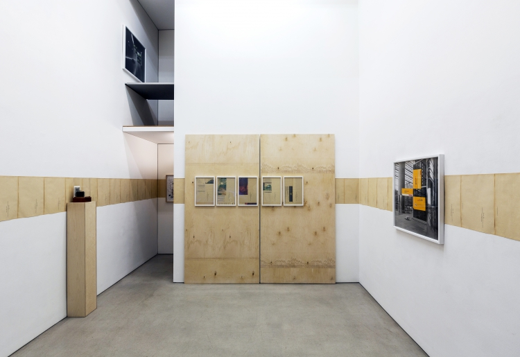 MLADEN BIZUMIC, Exhibition view Mladen Bizumic. Kodak: Reorganization Plan, Georg Kargl BOX, Vienna | 2015 © Courtesy Georg Kargl Fine Arts, Wien | Vienna Foto | Photo: Matthias Bildstein