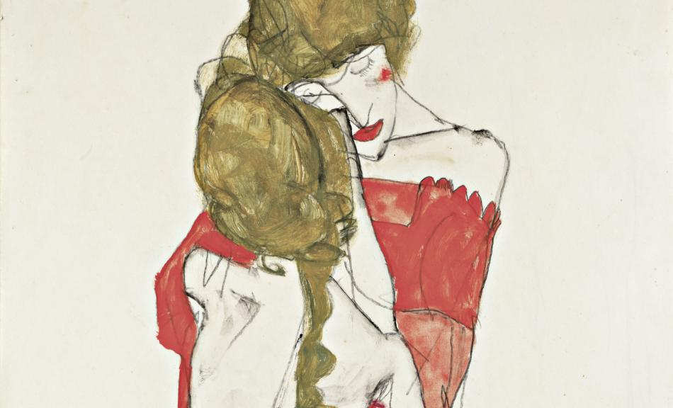 Egon Schiele, Mother and Daughter, 1913 © Leopold Museum, Vienna, Inv. 1436