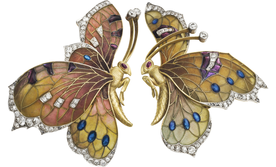 Butterfly Brooch, c. 1910 © Rozet & Fischmeister Co., Vienna, Privately owned