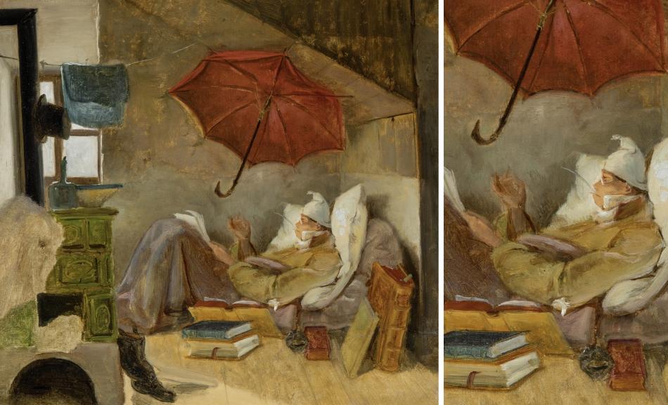 Carl Spitzweg Der Arme Poet Bild Im Fokus