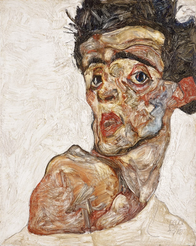 Melancholy and provocation review special exhibitions for Schiele immagini