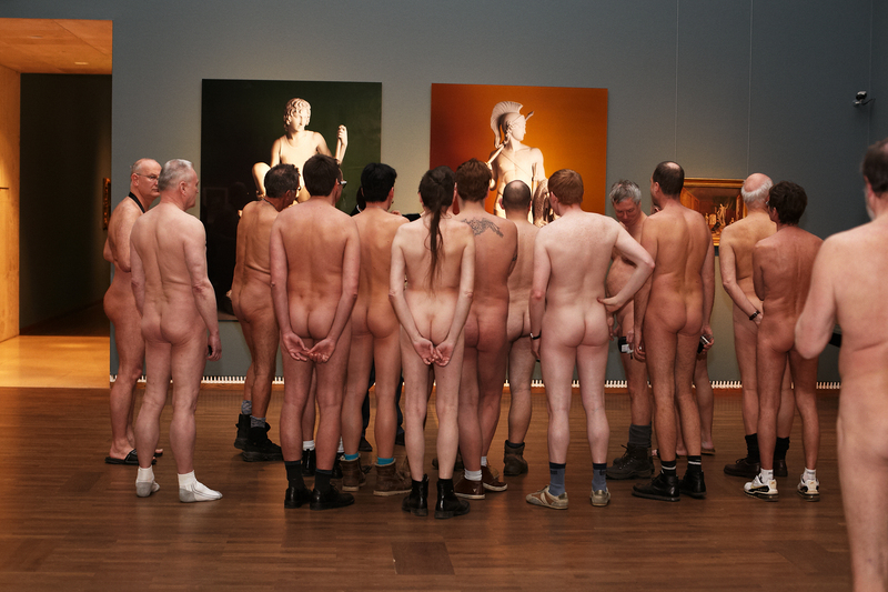museum men Leopold nude
