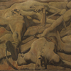 Albin Egger-Lienz, Finale, 1918 © Collection Leopold II