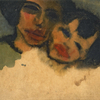 Emil Nolde, Mother and Child (Gypsies), 1921 © Courtesy of Osthaus Museum Hagen & Institut für Kulturaustausch, Tübingen|© Nolde Stiftung Seebüll