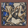 Christian Rohlfs, Two Dancers (Witches' Dance), c. 1913 © Courtesy of Osthaus Museum Hagen & Institut für Kulturaustausch, Tübingen