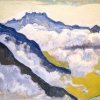 Ferdinand Hodler, Dents du Midi from Caux, 1917 © Private collection, Ticino, Photo: Private collection Switzerland