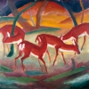 FRANZ MARC, RED DEER I, 1910 © Courtesy Heidi Horten Collection