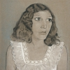 LUCIAN FREUD, GIRL IN A WHITE DRESS, 1947 © Courtesy Heidi Horten Collection © Lucian Freud Archive