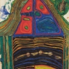 FRIEDENSREICH HUNDERTWASSER, 435 Casa che protegge, 1960 © Peggy Guggenheim Collection, Venice  Solomon R. Guggenheim Foundation, New York Foto: Peggy Guggenheim Collection, Venice © 2020 Namida AG, Glarus, Schweiz