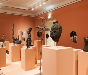 "Exhibition insight ""Foreign Gods"" © Leopold Museum, Vienna, Photo: Lisa Rastl"