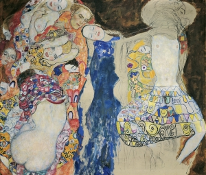 GUSTAV KLIMT, The Bride, 1917/18 (unfinished) © Klimt-Foundation, Vienna