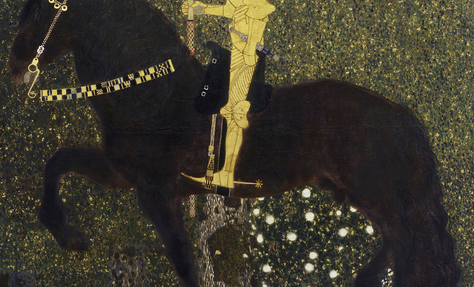 Gustav Klimt, The Golden Knight (Life is a Battle), 1903 © Aichi Prefectural Museum of Art, Nagoya