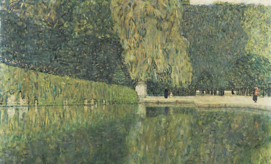 GUSTAV KLIMT, Schönbrunn Landscape, 1916 © Private collection, Graz
