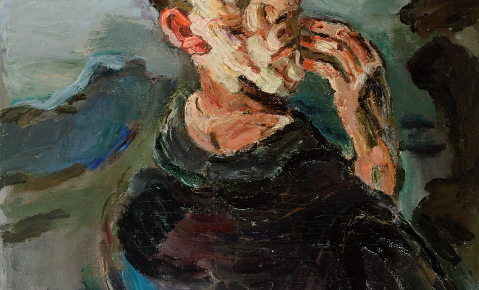Oskar Kokoschka, Self-Portrait, One Hand touching the Face, 1918/19 © Leopold Museum, Vienna, Inv. 623, (c) Fondation Oskar Kokoschka, VBK, Vienna 2011
