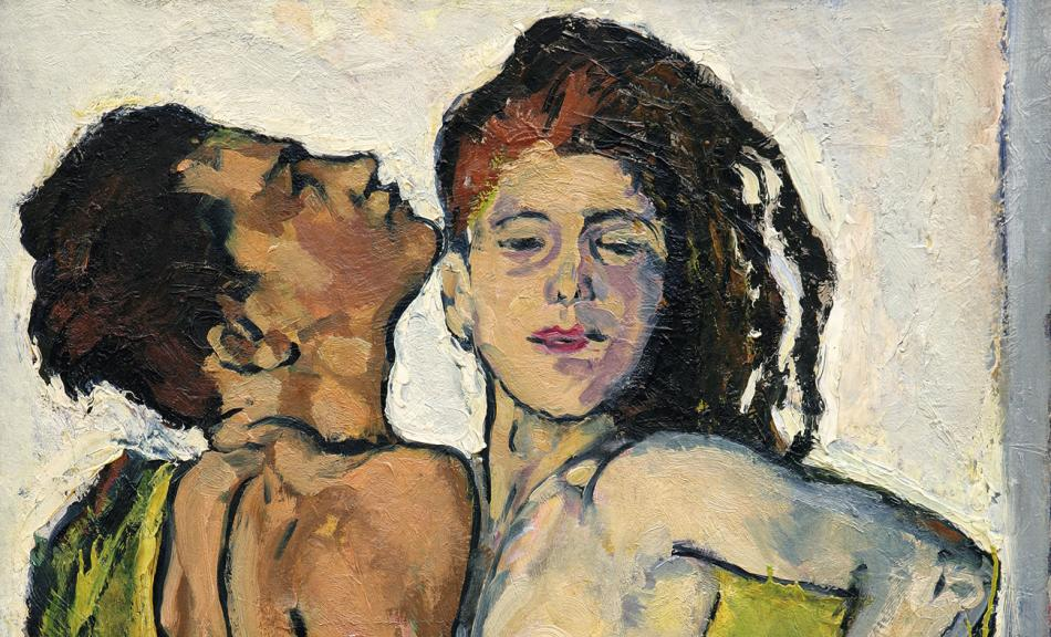 Koloman Moser, Lovers, c. 1914 © Collection Leopold II