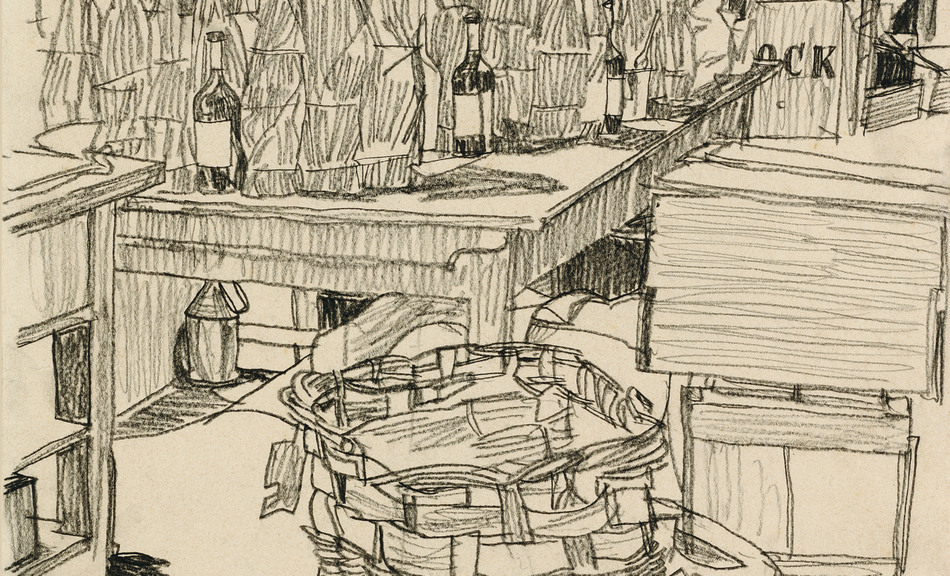 EGON SCHIELE, Packing Room, 1917 © Leopold Museum, Vienna, Inv. 1416