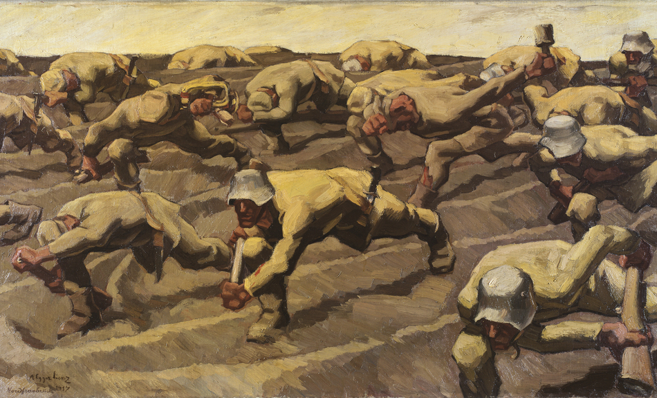 ALBIN EGGER-LIENZ, Northern France 1917, 1917 © Private collection