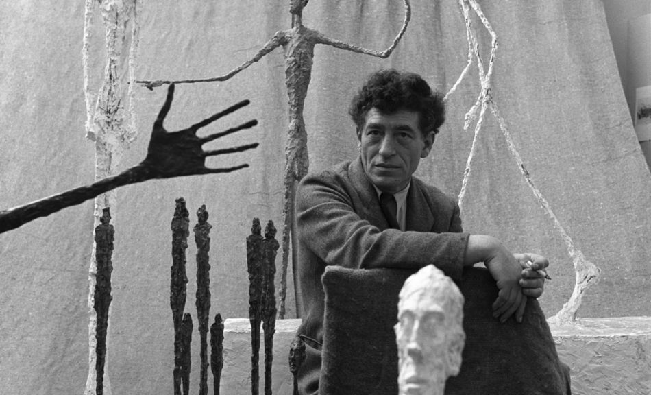 Gordon Parks, Untitled [Alberto Giacometti], Paris, France, 1951, The Gordon Parks Foundation © Photograph courtesy of The Gordon Parks Foundation © Alberto Giacometti Estate/Bildrecht, Vienna 2014