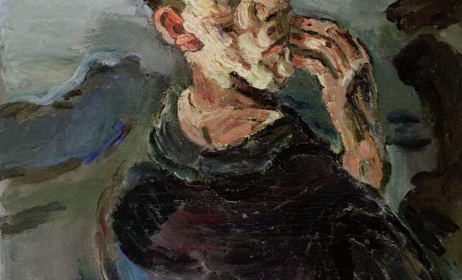 Oskar Kokoschka, Self-Portrait, One Hand Touching the Face, 1918/19 © Leopold Museum, Vienna, Inv. 623