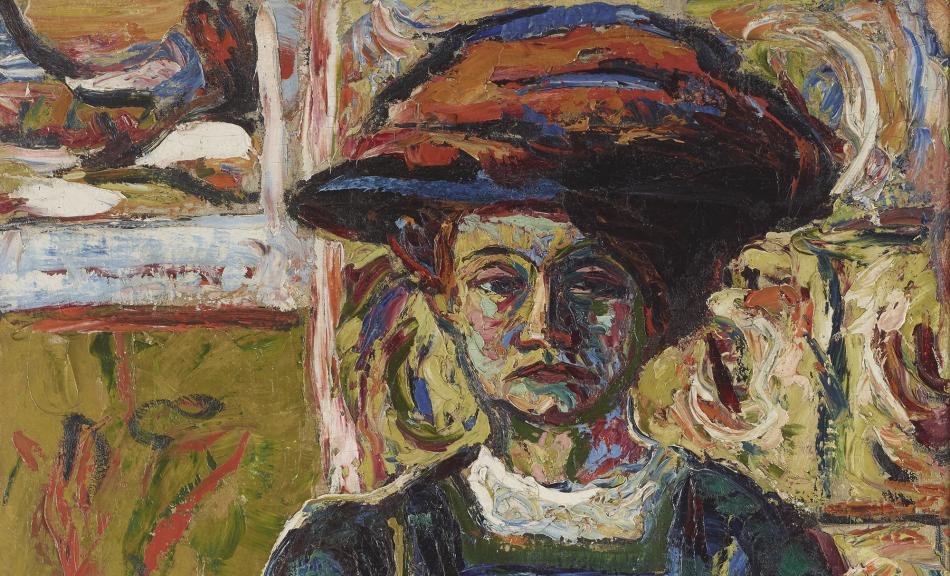 Ernst Ludwig Kirchner, Portrait of Emmi Frisch, 1908 © Leopold, Private Collection