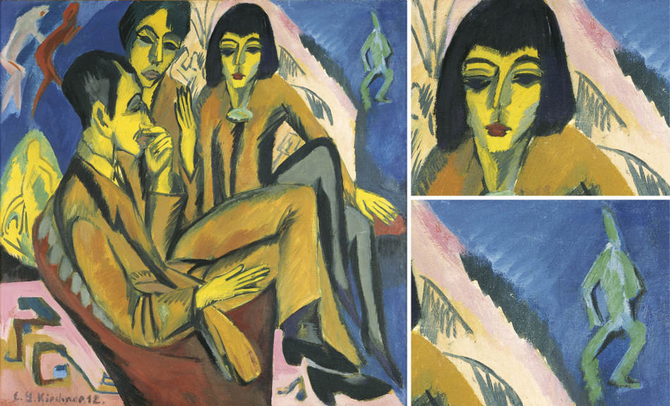 ernst ludwig kirchner focus on a painting exhibitions leopold