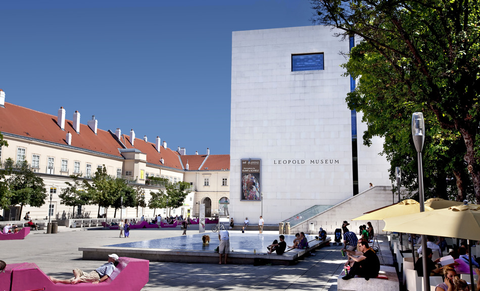 MuseumsQuartier2 © Leopold Museum
