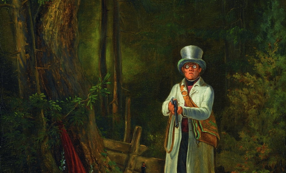 Carl Spitzweg, The Sunday Hunter, c. 1841–1848 © Staatsgalerie Stuttgart Foto | Photo: bpk/Staatsgalerie Stuttgart