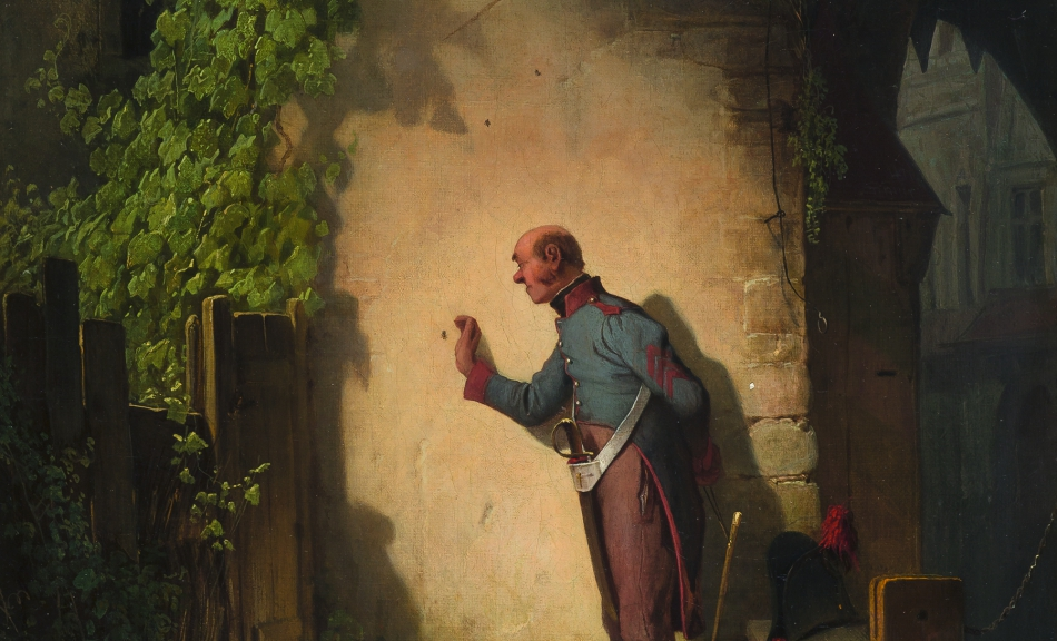 Carl Spitzweg, The Flycatcher, 1848 © Privatbesitz | Private collection Foto | Photo: Richard Borek Stiftung, Braunschweig