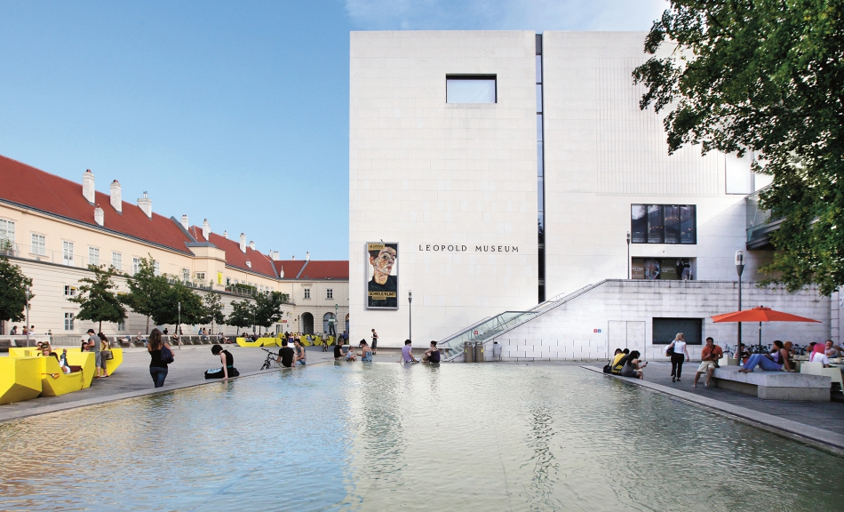 Leopold Museum, MuseumsQuartier © Leopold Museum, Vienna / photo: Julia Spicker