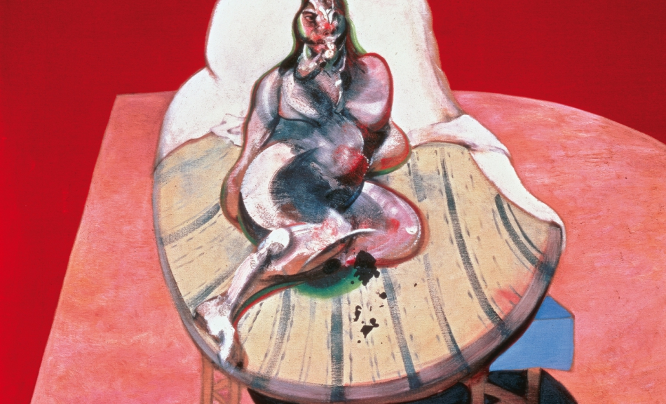 FRANCIS BACON, STUDY FOR PORTRAIT OF HENRIETTA MORAES, 1964 © Courtesy Heidi Horten Collection © The Estate of Francis Bacon, All rights reserved / Bildrecht, Wien, 2018