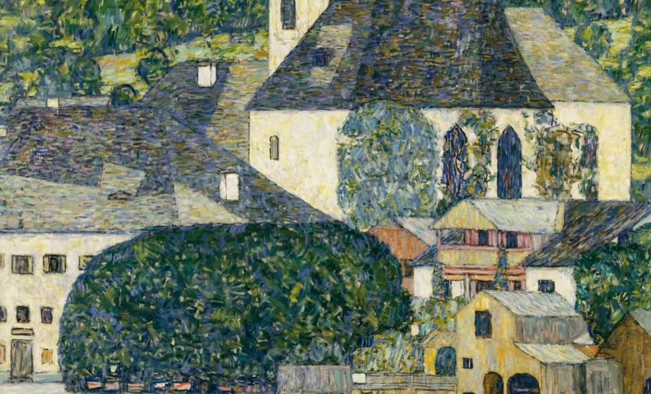 GUSTAV KLIMT, KIRCHE IN UNTERACH AM ATTERSEE, 1916 © Courtesy Heidi Horten Collection