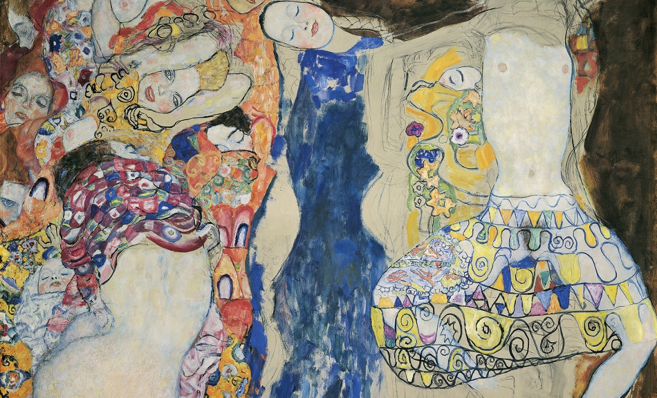 GUSTAV KLIMT, The Bride, 1917/18 (unfinished) © Klimt-Foundation, Vienna, Photo: Klimt-Foundation, Vienna, Leihgabe im Belvedere, Vienna