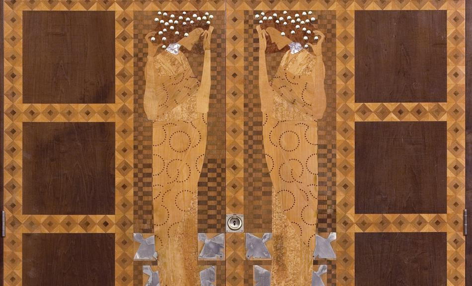 KOLOMAN MOSER, Inlaid Wardrobe from the Bedroom of the Eisler von Terramare Apartment, 1903 © Leopold Museum, Vienna