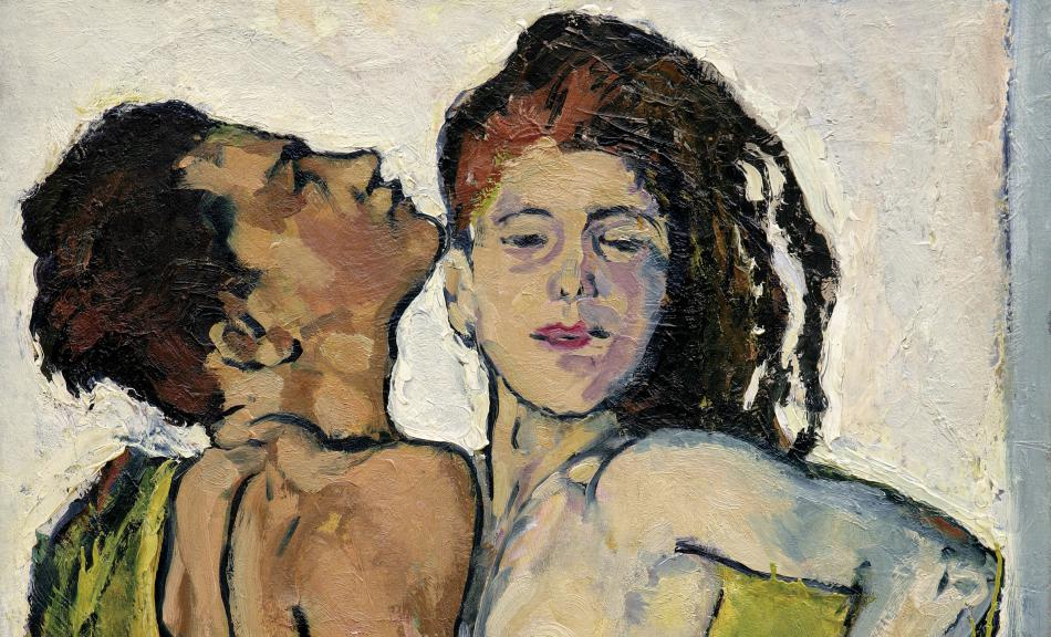 KOLOMAN MOSER, Lovers, c. 1914 © Leopold, Private Collection, Photo: Leopold Museum, Vienna