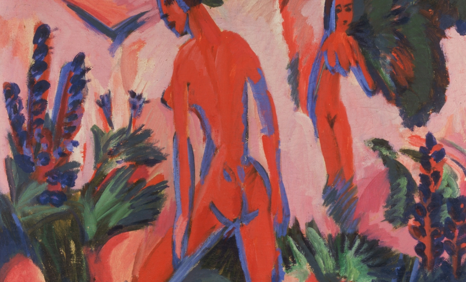 Ernst Ludwig Kirchner, Rote Akte, 1912 © Courtesy Heidi Horten Collection