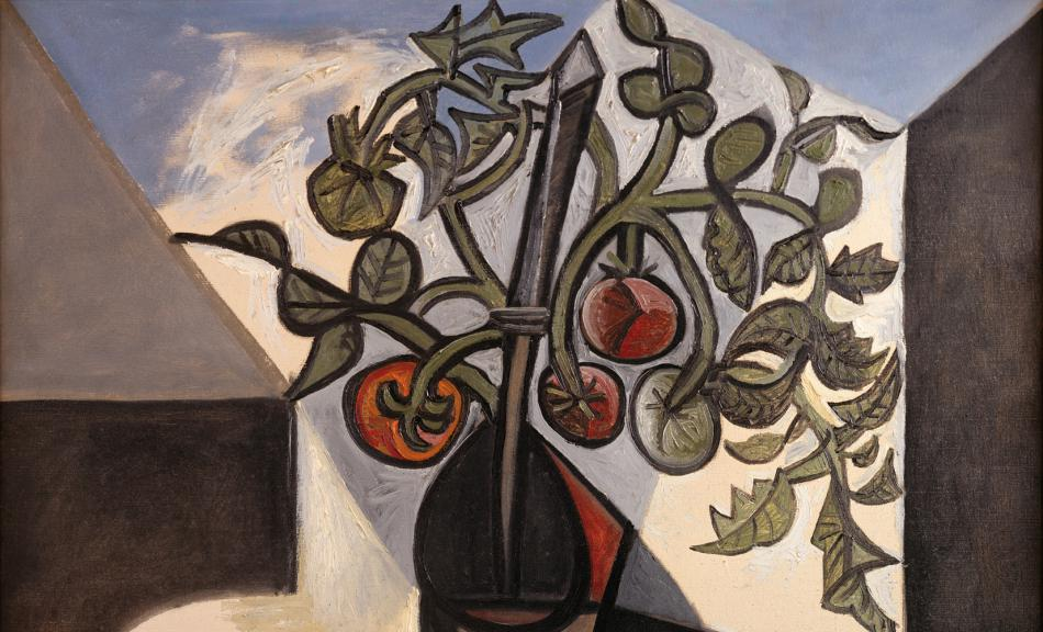PABLO PICASSO, PLANTE DE TOMATE, 1944 © Courtesy Heidi Horten Collection © Succession Picasso/ Bildrecht, Wien, 2018