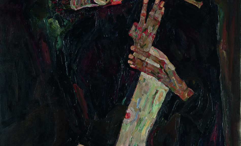 EGON SCHIELE | The Lyricist | 1911 © Leopold Museum, Vienna | Photo: Leopold Museum, Vienna/Manfred Thumberger